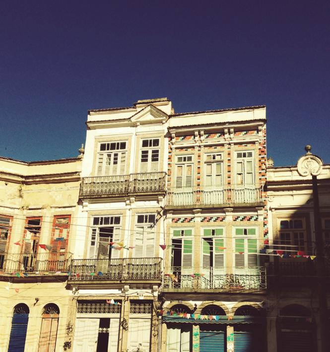 Largo de São Francisco da Prainha, Região Portuária do Rj. 2014 Foto: Ana Luiza Gomes